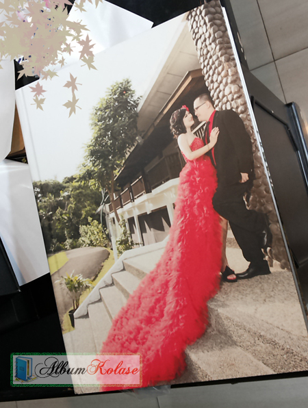 Contoh Cover Full Foto Album Kolase Wedding