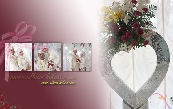 Album Kolase Pernikahan (Wedding)