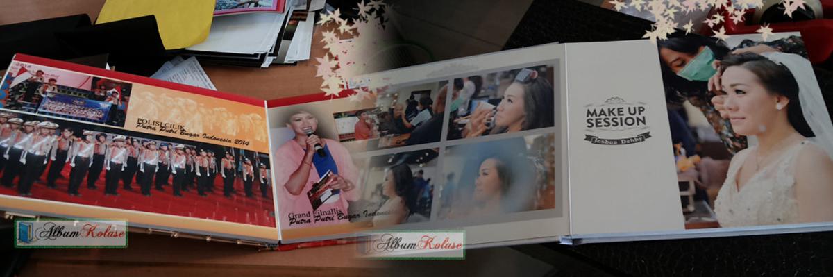 Contoh Desain Dalam Album Kolase Wedding Pernikahan 02