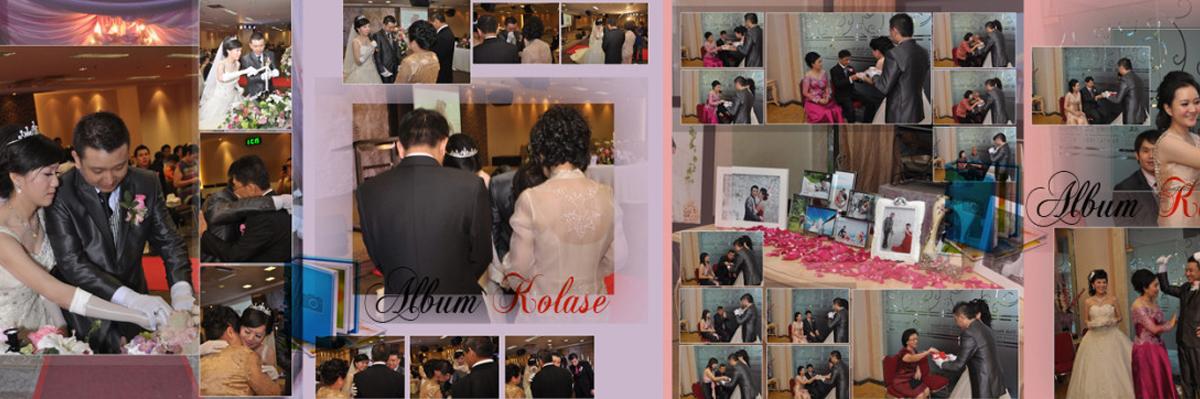 Foto Album Kolase Pernikahan (Wedding) Minimalis 03