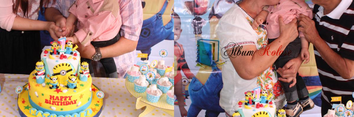 Foto Album Kolase Ulang Tahun Anak yang Meriah 01
