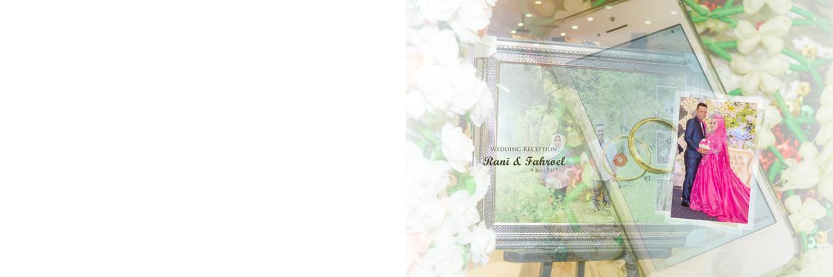 Desain Album Kolase Wedding Reception