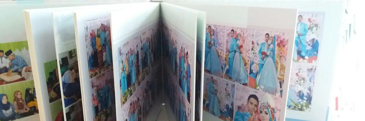 Model Desain Cetak Cover Album Wedding dan Koper
