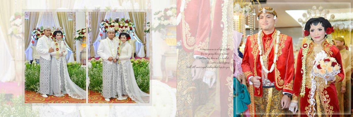 Harga Desain Album Kolase Wedding